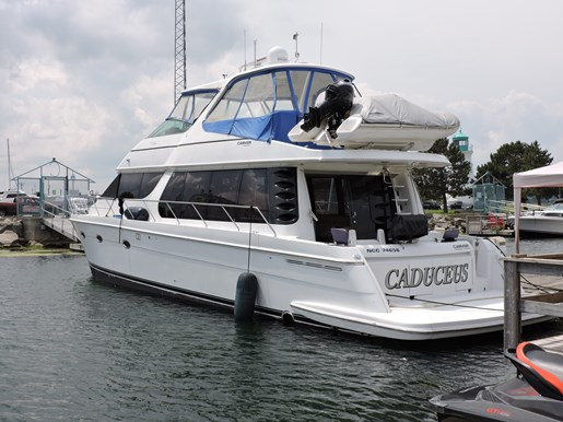 2003 Carver 570 Voyager Photo 9 of 116