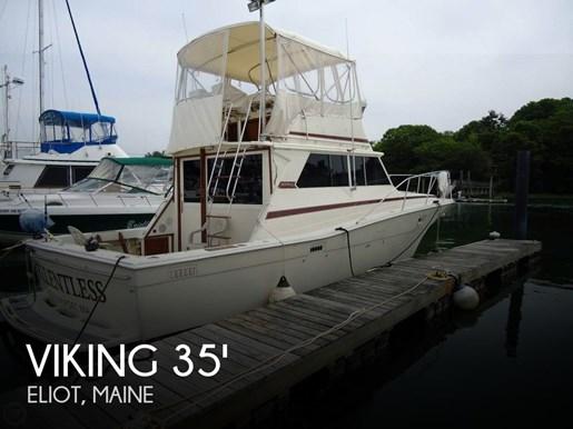 1983 Viking Yachts 35 Convertible Photo 1 of 20