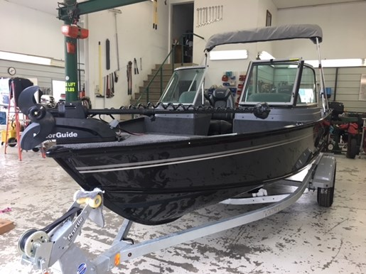 2019 Lund 1625 Fury XL Sport w/Mercury 60 & Shoreland'r  Photo 1 of 11