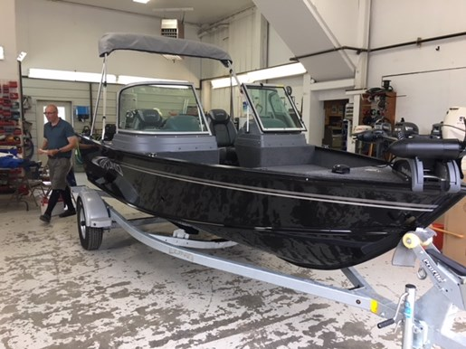 2019 Lund 1625 Fury XL Sport w/Mercury 60 & Shoreland'r  Photo 2 of 11