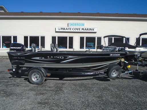 For Sale: 2010 Lund 1725 Pro Guide Tiller For Sale - Us559 17ft<br/>Pirate Cove Marina