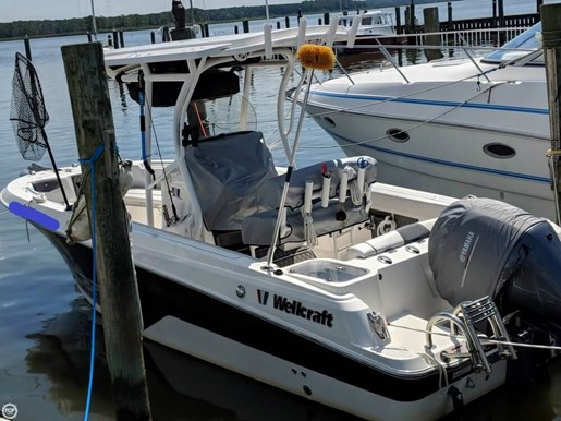 2017 Scarab 222 Fisherman Offshore Photo 14 of 20