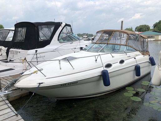Sea Ray 260 Sundancer 2000 Used Boat for Sale in Portland, Ontario -  BoatDealers ca