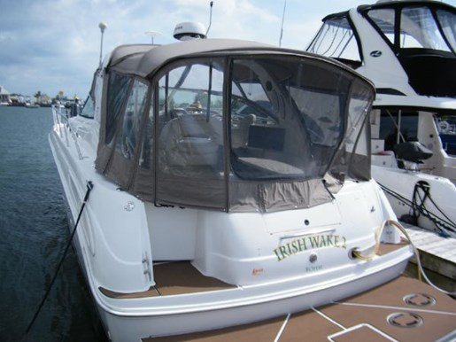 1999 Sea Ray boat for sale, model of the boat is 380 Sundancer & Image # 1 of 18