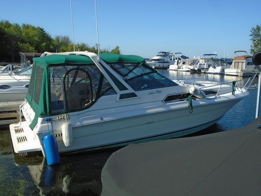 For Sale: 1987 Sea Ray 270 Sundancer Sport Cruiser 29ft<br/>Pirate Cove Marina