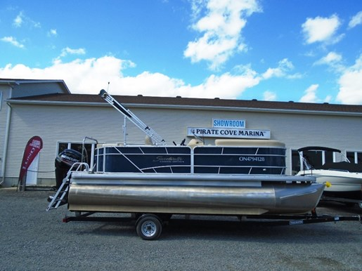 2015 SWEETWATER 2086 COASTAL EDITION PONTOON FOR SALE   US567 for sale