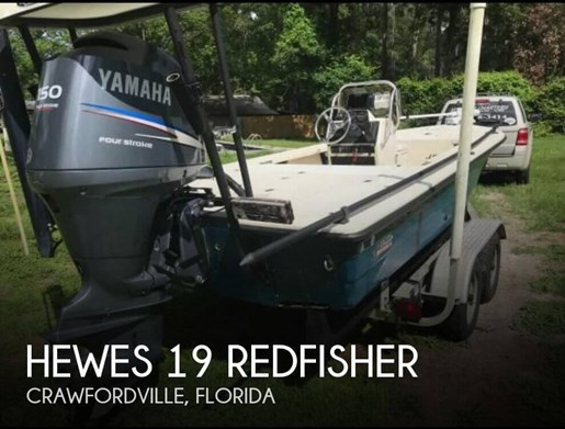 Hewes 19 Redfisher 1996 Used Boat for Sale in Crawfordville, Florida -  BoatDealers ca