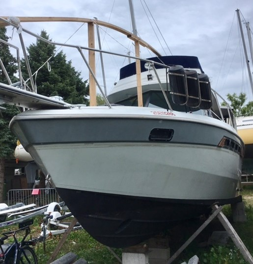 Chris Craft By Grew Amerisport 322 1986 Used Boat For Sale