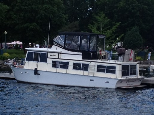 Whitcraft 39ft Houseboat 1970 Used Boat For Sale In