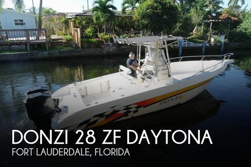 Donzi 28 ZF Daytona 2000 Used Boat for Sale in Fort Lauderdale, Florida -  BoatDealers ca