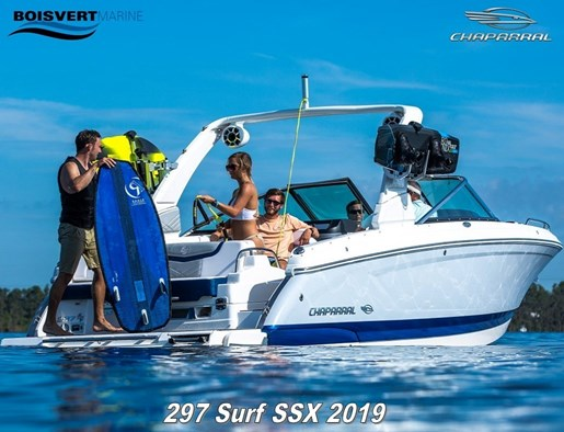 Chaparral 297 Surf SSX 2019 New Boat for Sale in Sorel Tracy