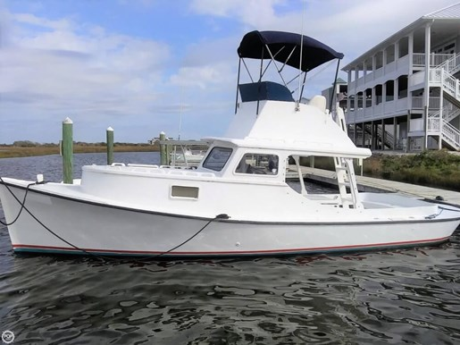 1988 Harkers Island 32 Cruiser Core Sounder Photo 18 of 20