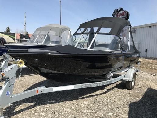 Crestliner 1850 Fish Hawk Walk Through 2018 New Boat For Sale In