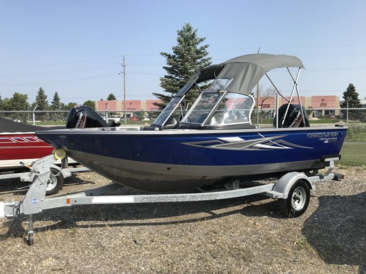 2017 Crestliner 1750 Super Hawk Photo 1 of 14