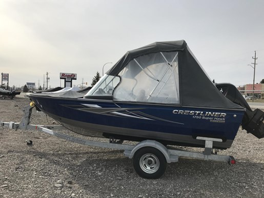 2017 Crestliner 1750 Super Hawk Photo 13 of 14