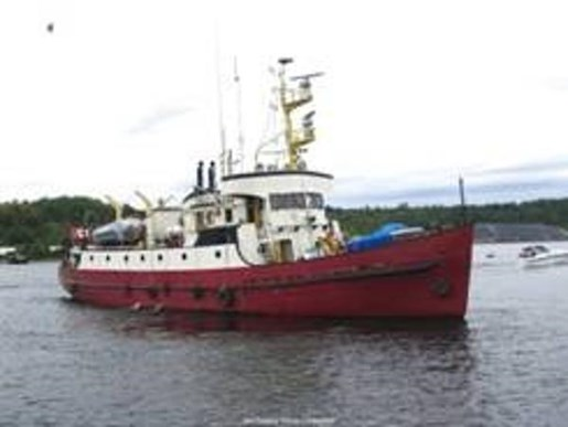 1960 CUSTOM LINE RUSSEL HIPWELL STEEL CONVERTED CCG VESSEL for sale