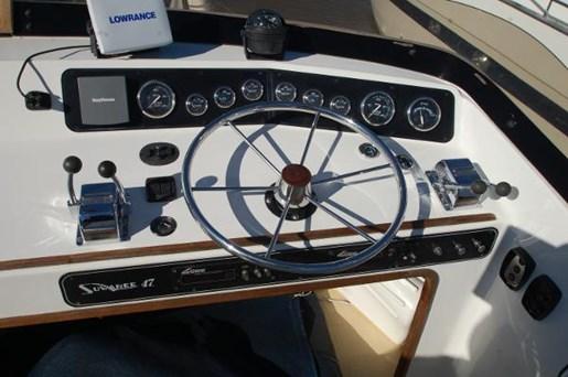 2007 Kenner boat for sale, model of the boat is Suwanee Flybridge Cruiser & Image # 14 of 17