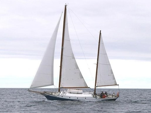 1965 Custom Steel Ketch boat for sale, model of the boat is Defontaine & Image # 1 of 17