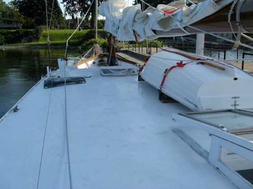 1965 Custom Steel Ketch boat for sale, model of the boat is Defontaine & Image # 3 of 17