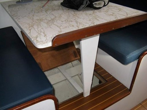 1965 Custom Steel Ketch boat for sale, model of the boat is Defontaine & Image # 8 of 17