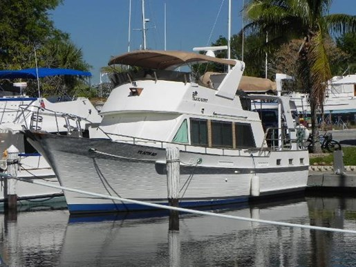 For Sale: 1984 Island Gypsy Flush Aft Deck 44ft<br/>North South Nautical Group Inc.