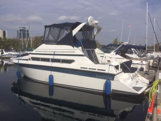 For Sale: 1990 Carver 34 Santego 34ft<br/>North South Nautical Group Inc.