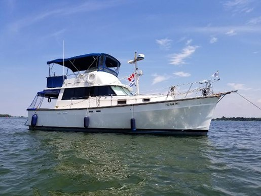 1977 SILVERTON 34T TRAWLER for sale