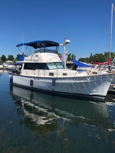 1977 Silverton boat for sale, model of the boat is 34T Trawler & Image # 4 of 22