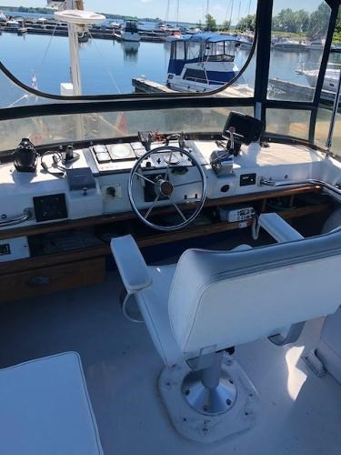 1977 Silverton boat for sale, model of the boat is 34T Trawler & Image # 5 of 22