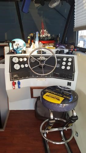 1991 Baha Cruisers boat for sale, model of the boat is 34.5 & Image # 6 of 9