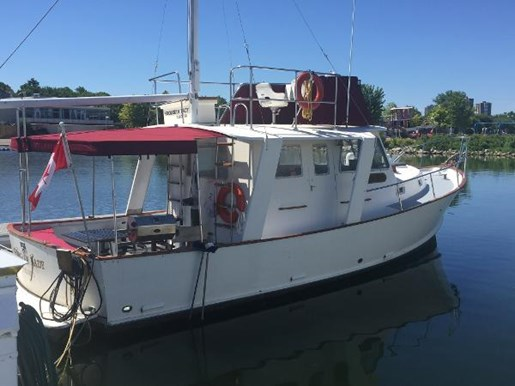 1981 ONTARIO YACHTS GREAT LAKES 33 for sale