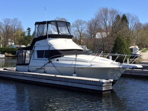 1995 SILVERTON 31 CONVERTIBLE for sale