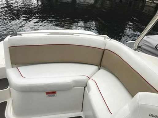 2009 Rinker boat for sale, model of the boat is 248 Deckboat with Tower & Image # 3 of 5