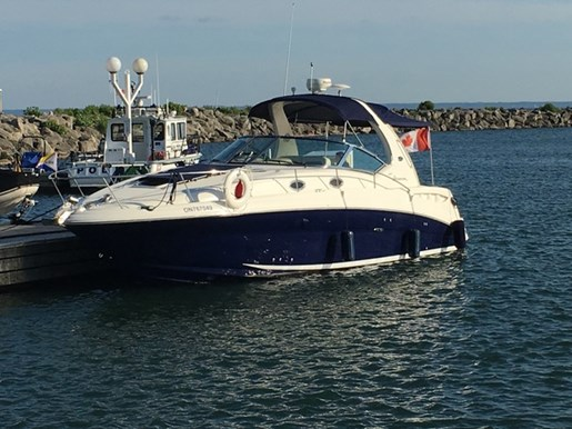2005 Sea Ray boat for sale, model of the boat is 320 Sundancer & Image # 1 of 5