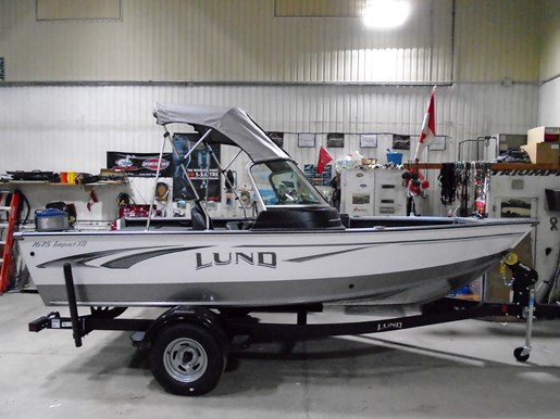 2019 Lund boat for sale, model of the boat is 1675 Impact XS For Sale - LF777 & Image # 6 of 7