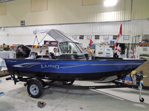 2019 Lund boat for sale, model of the boat is 1775 Impact XS For Sale - LF780 & Image # 6 of 7