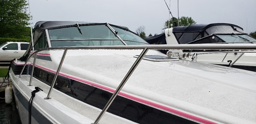 1987 Chris Craft boat for sale, model of the boat is 320 Amerosport & Image # 5 of 14