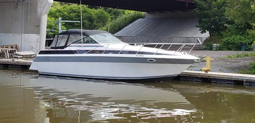 1987 Chris Craft boat for sale, model of the boat is 320 Amerosport & Image # 1 of 14