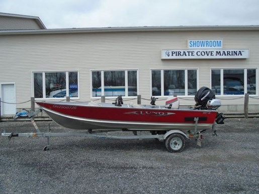 For Sale: 2010 Lund Wc16 Red For Sale - Brokerage 16ft<br/>Pirate Cove Marina
