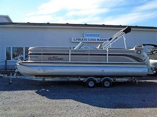 For Sale: 2007 Premier Pontoons S Series 235 Ptx For Sale - Brokerage 23ft<br/>Pirate Cove Marina