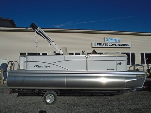 For Sale: 2019 Manitou 20 Aurora Angler Le For Sale – Man122 20ft<br/>Pirate Cove Marina