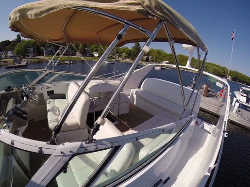 2000 Carver boat for sale, model of the boat is 350 Mariner & Image # 6 of 10