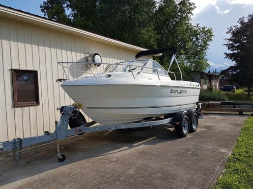 2007 CAMPION EXPLORER 552I SPORT CABIN for sale