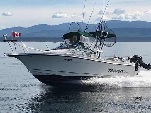 BAYLINER TROPHY PRO 2052WA 2004 Used Boat for Sale in Campbell River,  British Columbia - BoatDealers ca