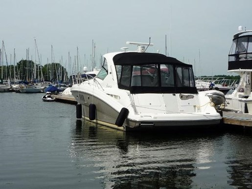 2006 Sea Ray boat for sale, model of the boat is 38 Sundancer & Image # 2 of 16
