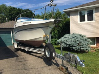 1992 Celebrity boat for sale, model of the boat is 245 Sport Cruiser & Image # 3 of 7