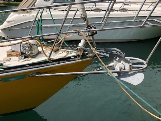 1972 C & C boat for sale, model of the boat is 39 & Image # 3 of 17