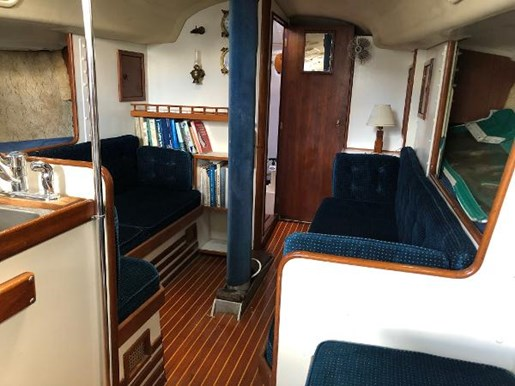 1972 C & C boat for sale, model of the boat is 39 & Image # 6 of 17