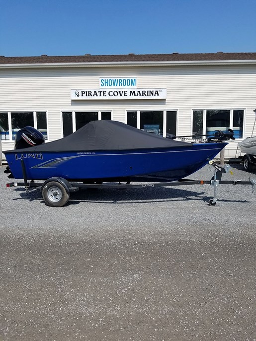 2020 Lund boat for sale, model of the boat is 1650 Rebel XL Sport – For Sale – LF802 & Image # 7 of 7