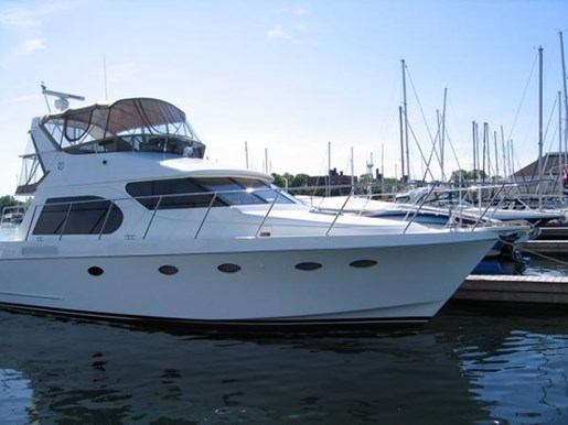 2006 Ocean Alexander boat for sale, model of the boat is 45 Sedan & Image # 2 of 26